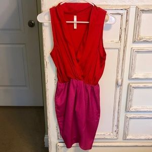 New without tags Red and Pink dress!
